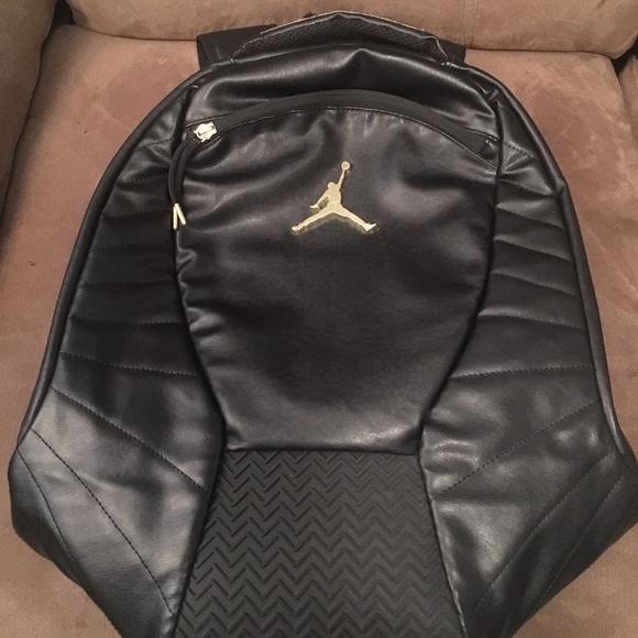 Nike Other - Black Gold Nike Air Jordan Sports Backpack Men's